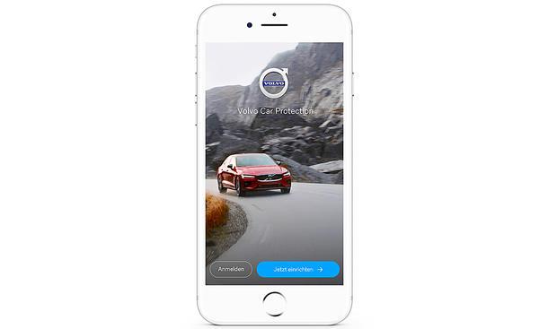 Volvo Car Protection: Versicherung per App buchen