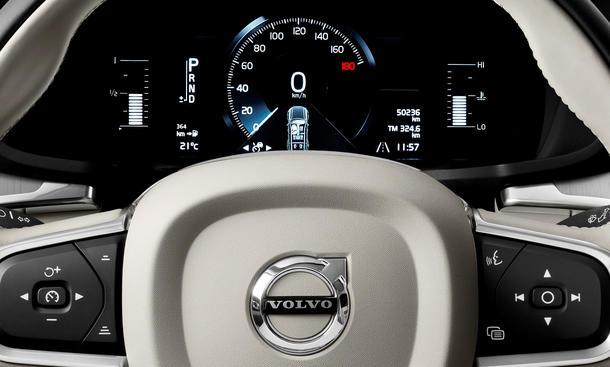 Begrenzung der Höchstgeschwindigkeit von Volvo-Pkw