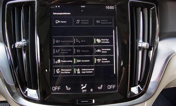 Volvo V60: Connectivity