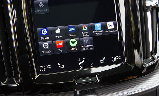 Volvo XC60: Connectivity