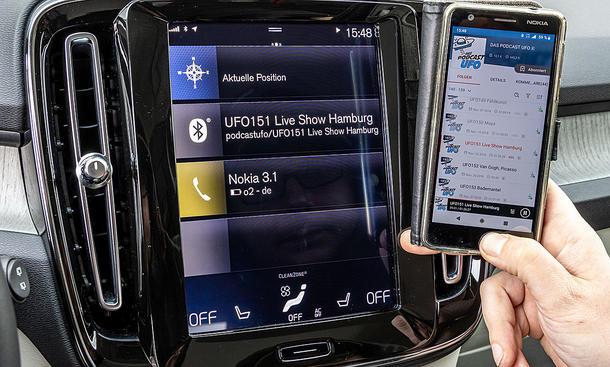Volvo XC40: Connectivity
