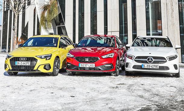 Audi A3 Sportback/Seat Leon/Mercedes A-Klasse