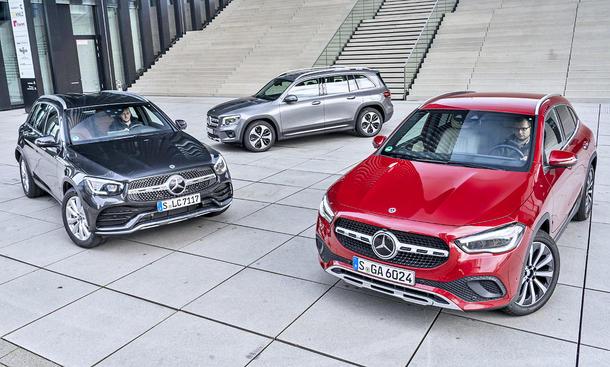 Mercedes GLC/Mercedes GLB/Mercedes GLA