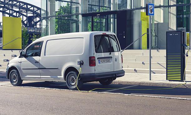 VW Abt e-Caddy (2019)