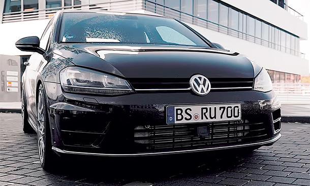 J.P. fährt VW Golf 7 Fünfzylinder