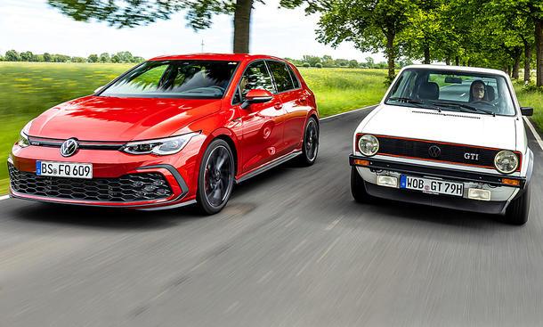 VW Golf 8 GTI/VW Golf 1 GTI