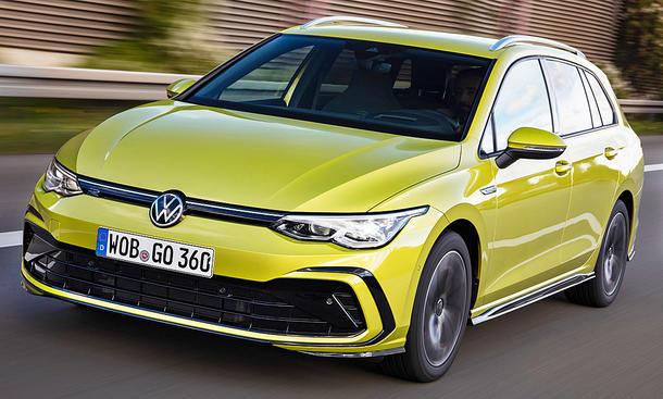 VW Golf 8 Variant (2020)