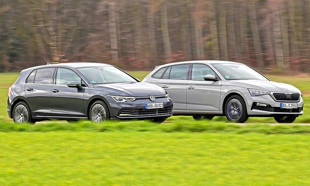 VW Golf/Skoda Scala