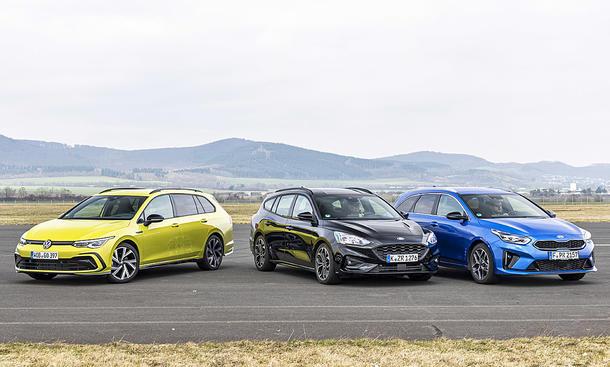 VW Golf Variant/Ford Focus Turnier/Kia Ceed Sportswagon