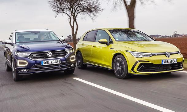 VW T-Roc/VW Golf 8