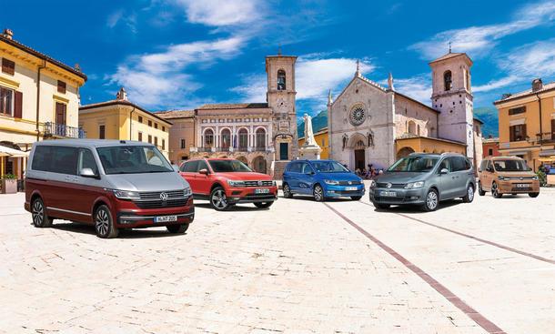 VW Multivan/VW Tiguan/VW Touran/VW Sharan/VW Caddy