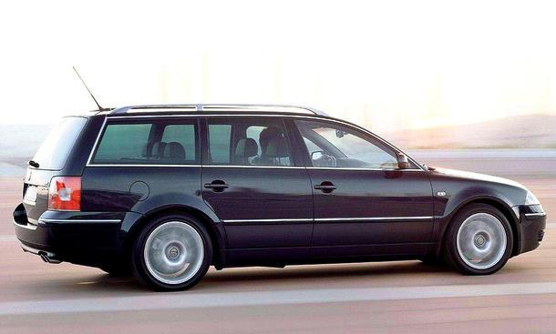 VW Passat W8 Variant (2001)
