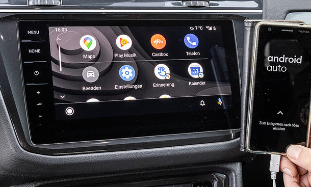 VW Tiguan: Connectivity