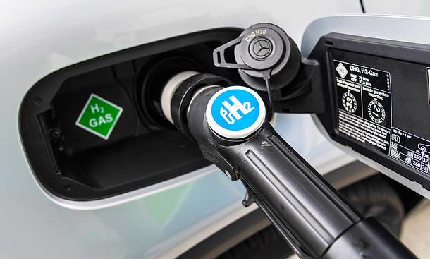Wasserstoff tanken