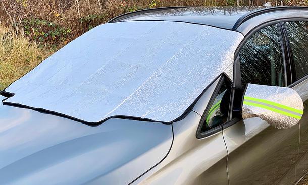 Frontscheibenabdeckung fürs Auto: Test
