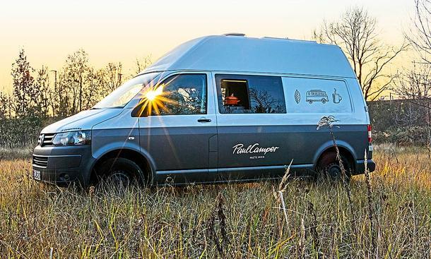 Wohnmobil: Vermietung & Business-Camping