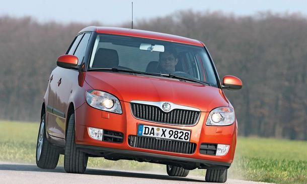 skoda fabia 1 4 16v einleitung karosserie. Black Bedroom Furniture Sets. Home Design Ideas