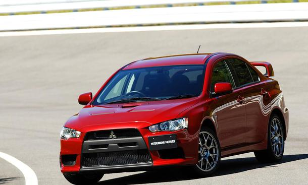 Mitsubishi Lancer Evolution X im Fahrbericht