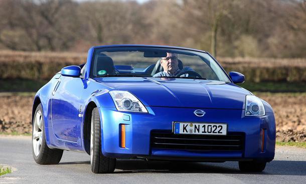Imagenes Nissan 350z on Der Neue Nissan 350z Roadster Im Dauertest Der Auto Zeitung