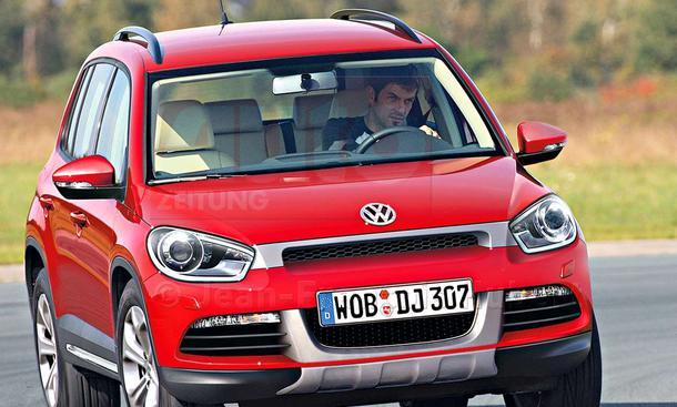 VW Polo SUV 1,4-Liter-Benzin-Direkteinspritzer