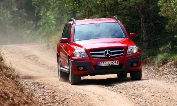 Mercedes Glk 320 Cdi Im Fahrbericht Autozeitung De
