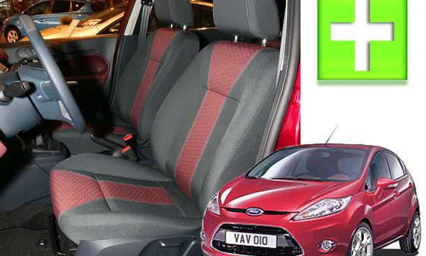 Autositze im Test Ford Fiesta