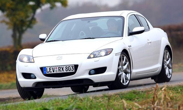 Mazda rx 8 der mazda begeistert mit seinem handlichen und weitere