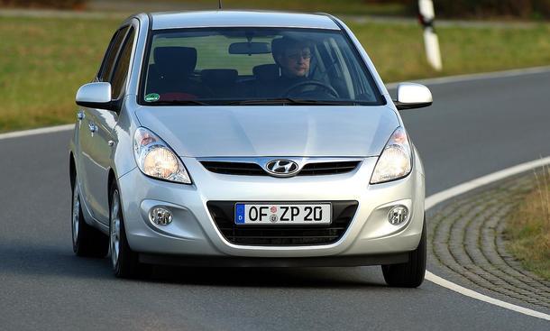 Hyundai i20 1.4 im Fahrbericht