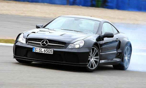 Mercedes Sl 65 Amg Black Series Autozeitung De