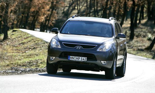 Hyundai ix55 3.0 V6 CRDi im Fahrbericht