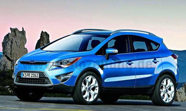 Ford Fusion Suv. Ford Fusion Ab 2010 tritt der