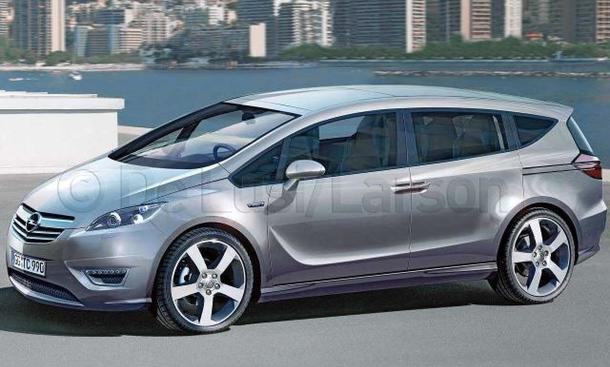 New Opel Zafira 2011. Opel Zafira 2011 soll eine