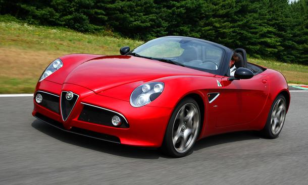 Faszination Auto: Alfa Romeo 8C Spider