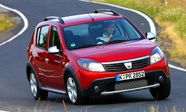Dacia Sandero on Dacia Sandero Stepway Im Fahrbericht   Einleitung Karosserie   Auto
