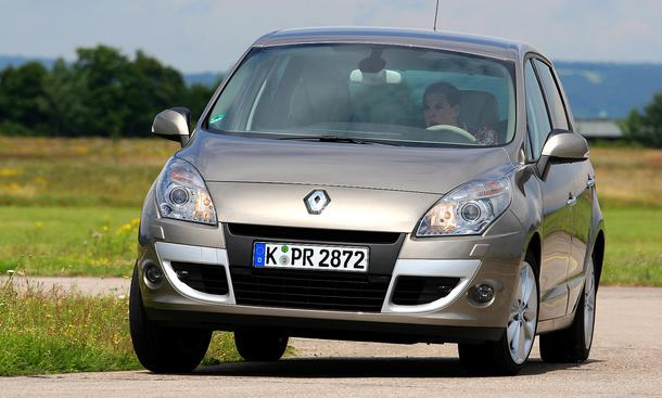 Renault Scénic TCe 130 - Scénic-Applaus | Einleitung Karosserie ...