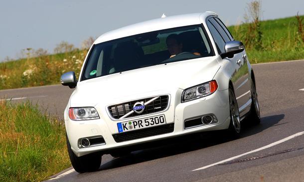 Volvo V70 D5: Frontansicht