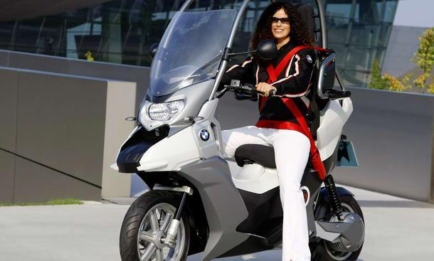 Neuheiten: BMW C1-E