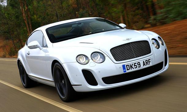 Bentley Continental Supersports: Der Grundpreis beträgt 230.027 Euro
