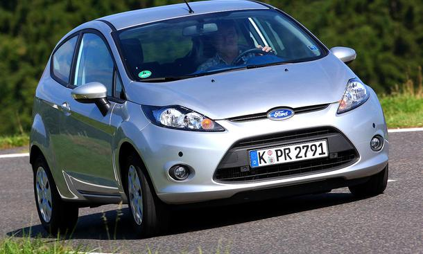 Ford Fiesta 1.6 TDCi ECOnetic: Testwagenpreis 19 625 Euro