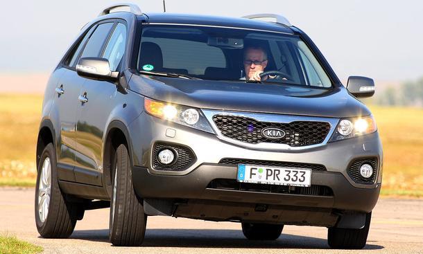 Kia Sorento 2.2 CRDi 4WD: von null auf hundert in 8,7 Sekunden