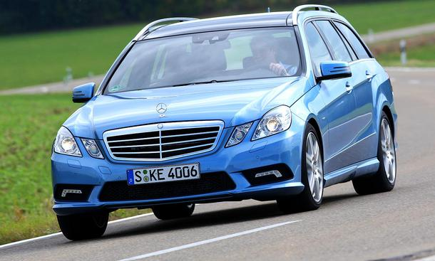 Mercedes E 350 CDI BlueEFFICIENCY T-Modell: Preise ab 54.205 Euro