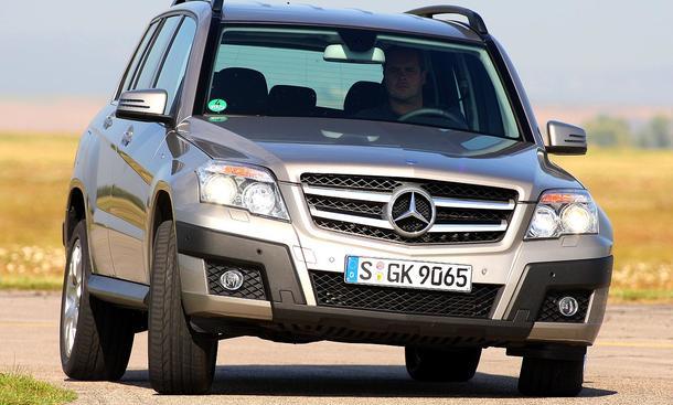 Mercedes GLK 220 CDI 4MATIC BE: von null auf hundert in 9,1 Sekunden