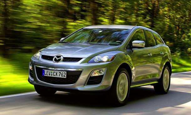 Mazda CX-7 2.2 CD: Der Grundpreis beträgt 29.990 Euro