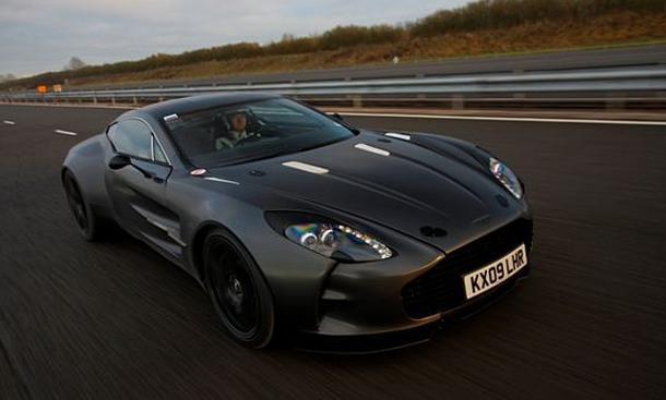 Aston Martin One-77 - Supersportler mit 710 PS