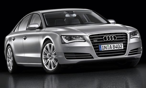 Der neue Audi A8 - ab Mai 2010