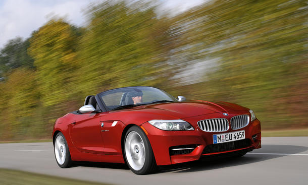 BMW Z4 sDrive35is - Premiere auf der Detroit Auto Show 2010