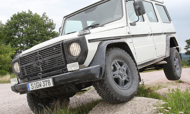 Mercedes G 280 Edition Pur - Frontansicht
