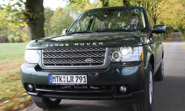 Range Rover 3.6 TDV8 - Nobel-Offroader mit modernisierter Optik