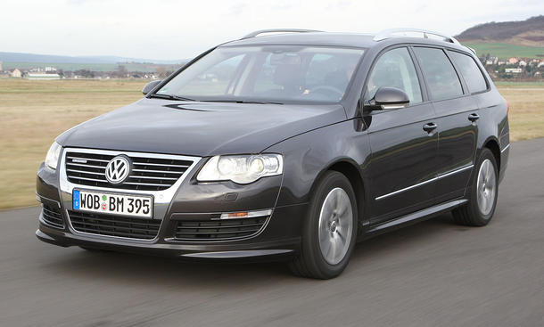VW Passat Variant BlueMotion - 1,6-Liter-TDI mit 105 PS