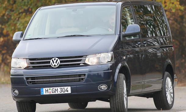 VW T5 Multivan 2.0 BiTDI DSG - Biturbo mit Vorderradantrieb